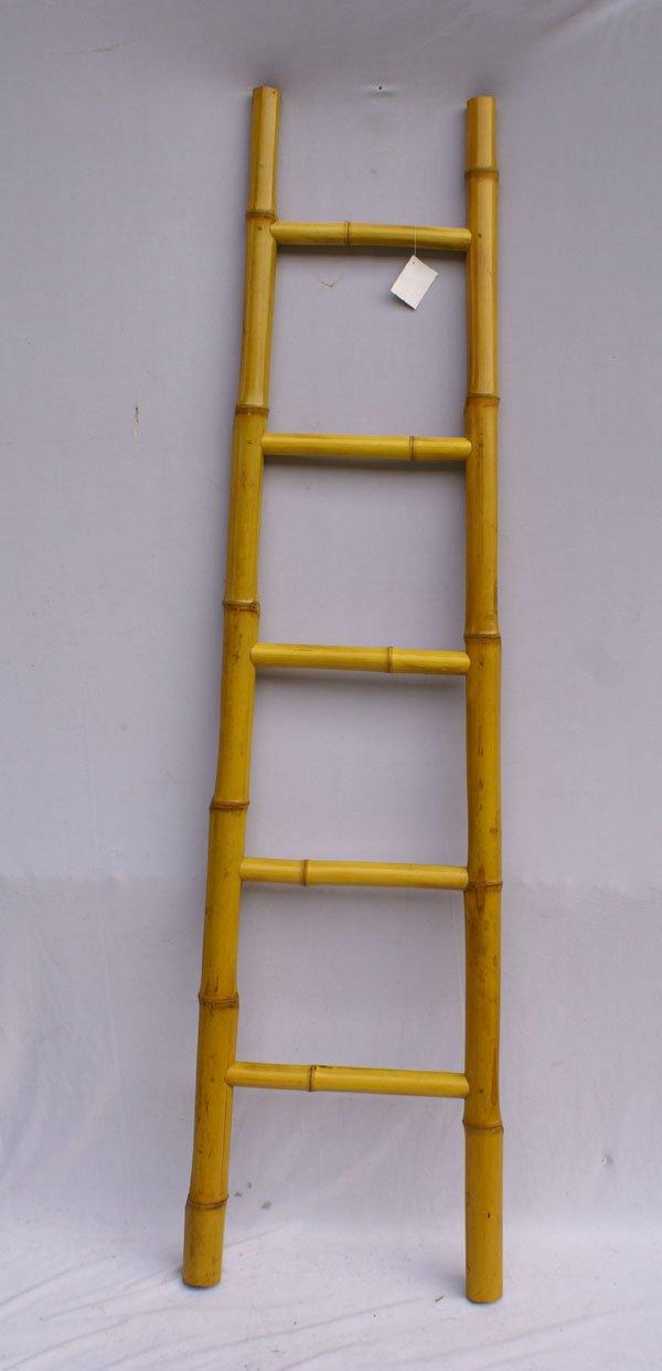 escada de bambu