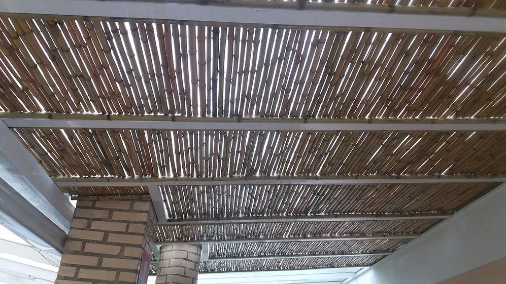forro de bambu para pergolas ,casas