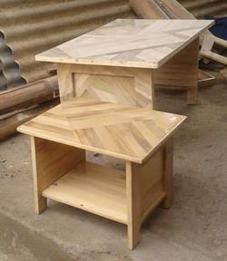 mesinha de laminado de bambu