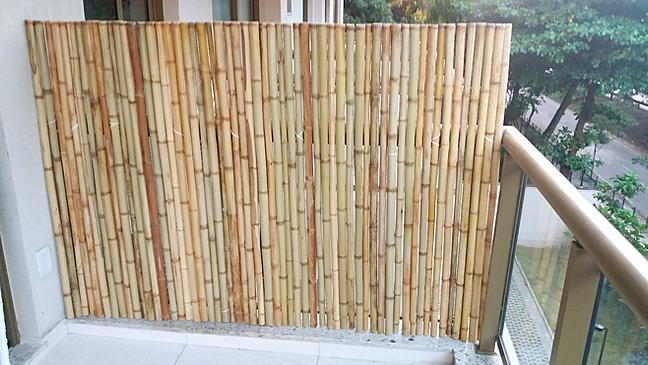 cerca de bambu ,fechamento de bambu,painel de bambu