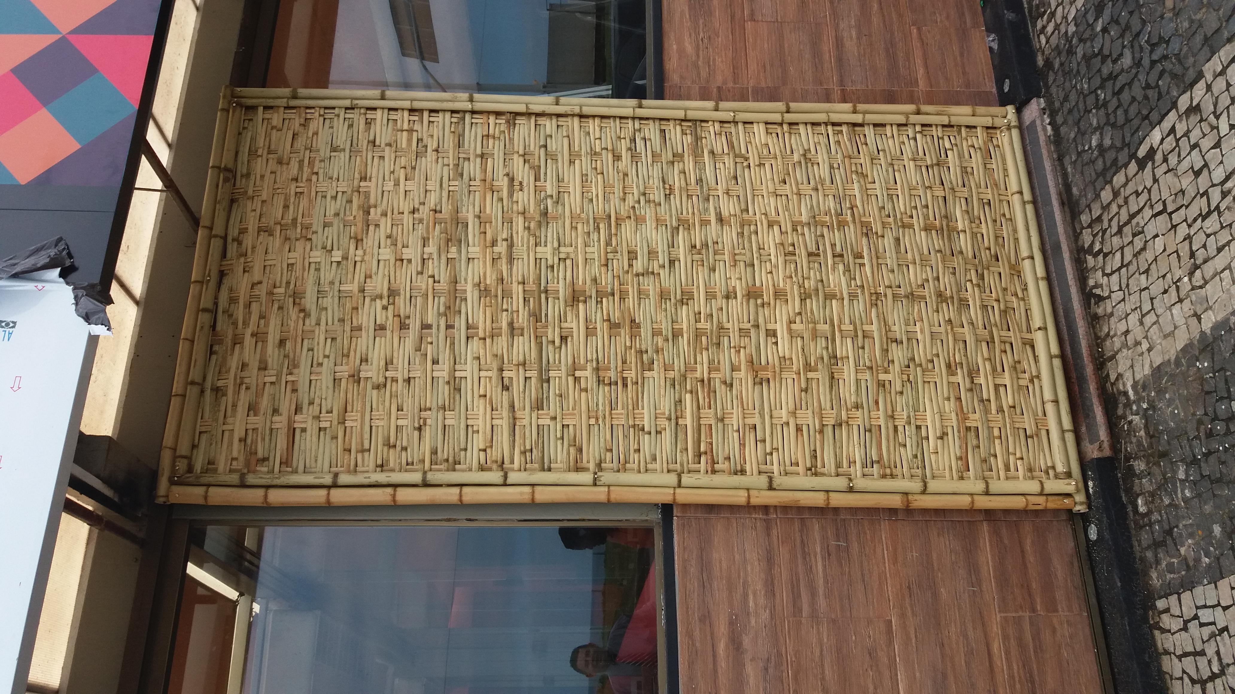 divisoria de bambu tratado