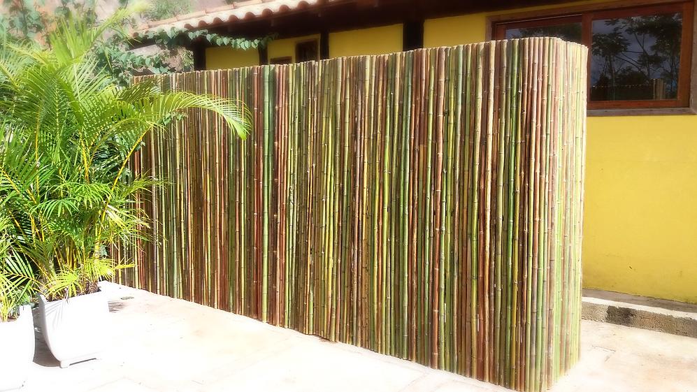cerca de bambu,fechamento de bambu,painel de bambu