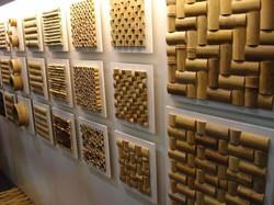 revestimentos de bambu