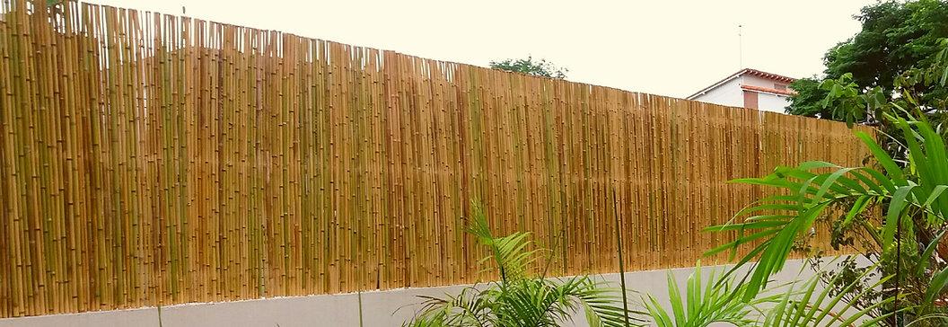 painel de bambu,cerca de bambu aumento de muro para privacidade