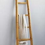 escada de bambu decorativa