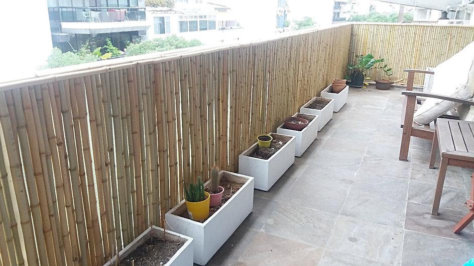 cerca de bambu para apartamento,fechamento de bambu para privacidade