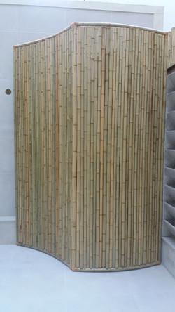 divisoria de bambu