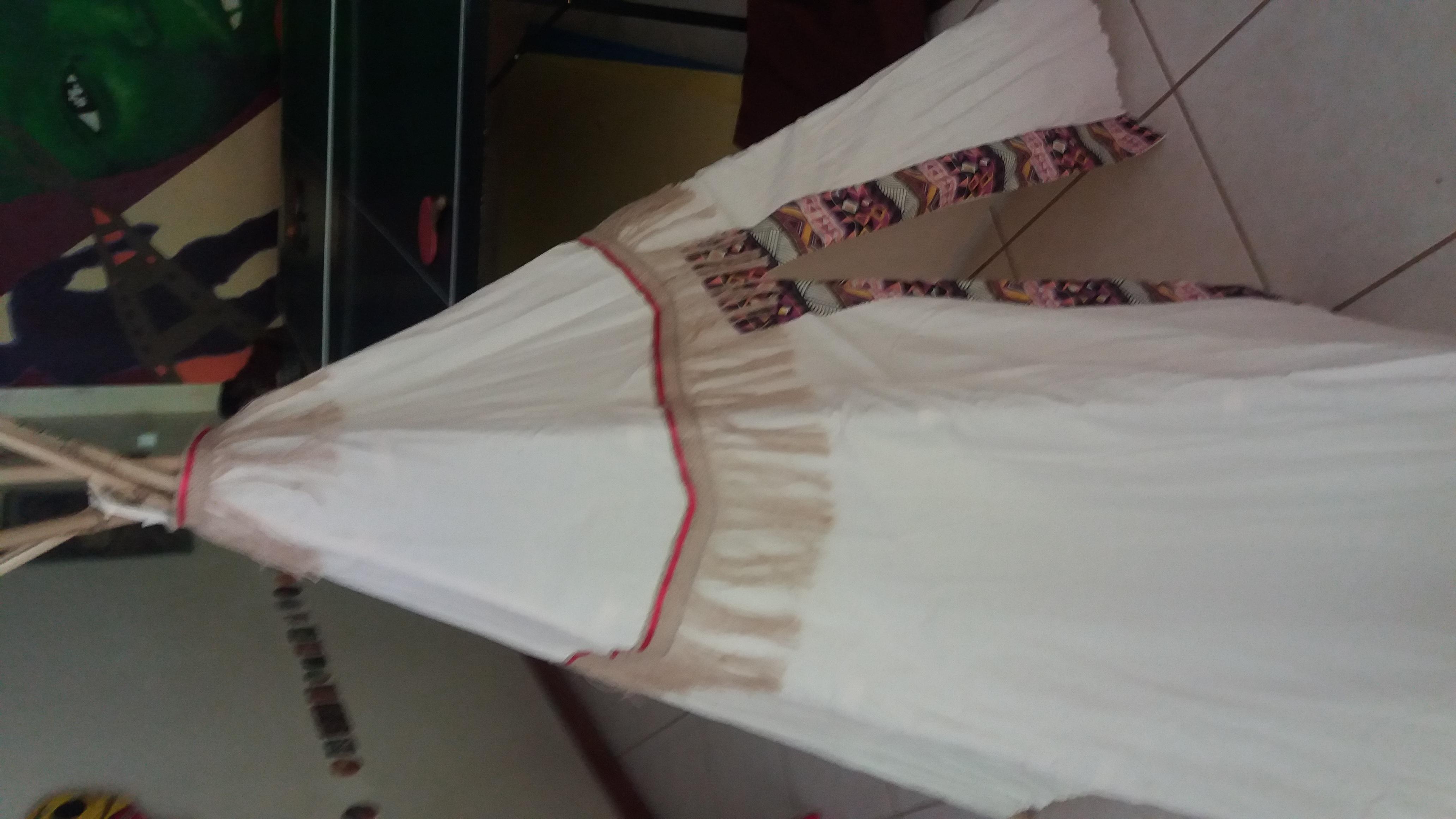 barraca de bambu infantil