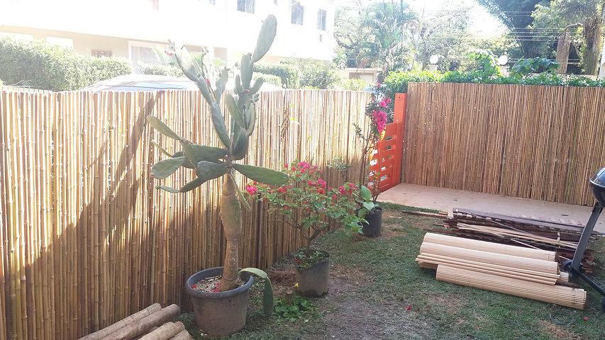 cerca de bambu para condominio para privacidade