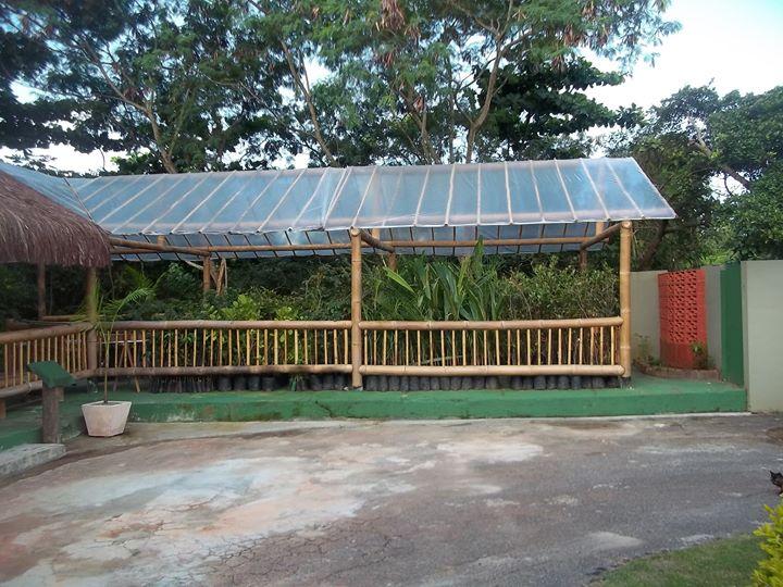 estrutura de bambu