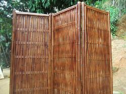 biombo de bambu