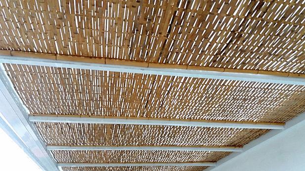 forro de bambu
