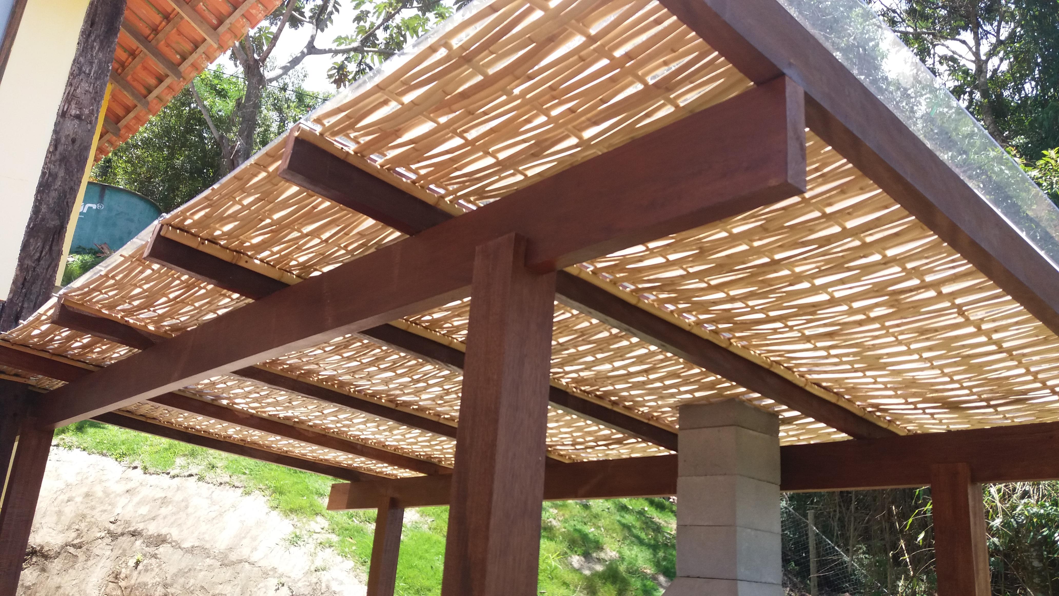 trançado de bambu