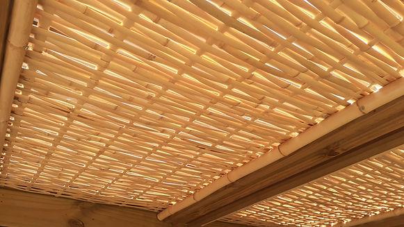 forro de bambu preço