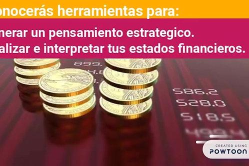 Taller de Finanzas para no financieros - Incluye 12 vídeos con ejerc prácticos