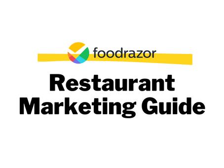 Restaurant/Cafe Marketing Guide