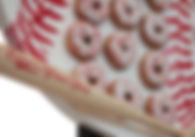 Baseball Donut wall rental