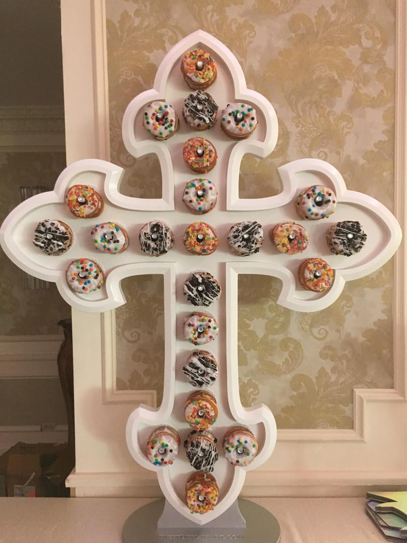 Celtic Cross Donut Wall
