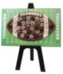 Football Donut Wall Rental