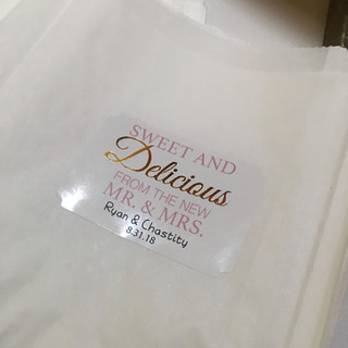 Wedding Baggies