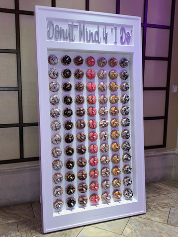 """Donut Mind if """"I Do"""" Donut Wall"""