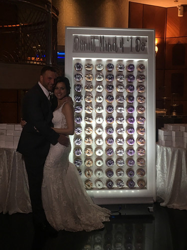 "Donut Mind if ""I DO"" Donut Wall"
