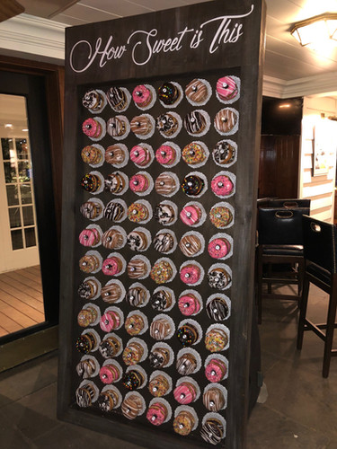 How Sweet is This Donut Wall