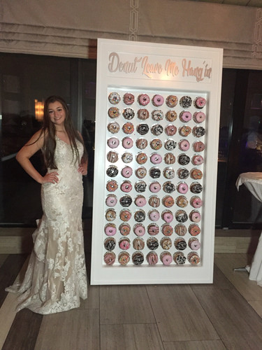 Donut Leave Me Haning Donut Wall