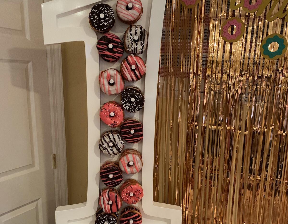 #1 Donut Wall