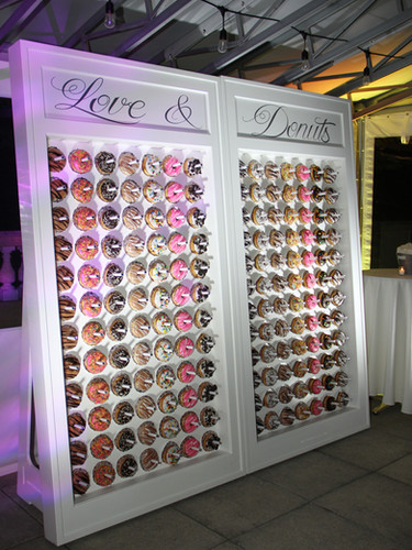 "Donut Mind if ""I Do"" Double Donut Wall -"