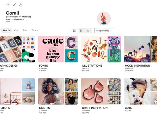 La veille créative sur Pinterest