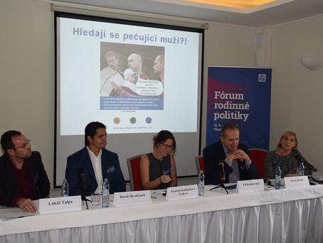 Fórum rodinné politiky Plzeň - workshop  Hledají se pečující muži?!