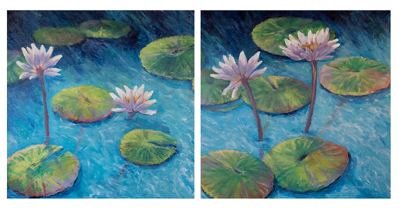 Reflections Diptych