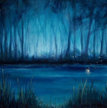Blue Marsh I (Avail @UGallery.com)