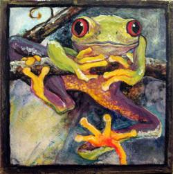 Dangling Frog