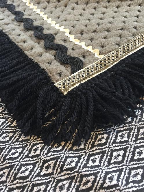 Alegria rombo wool fring