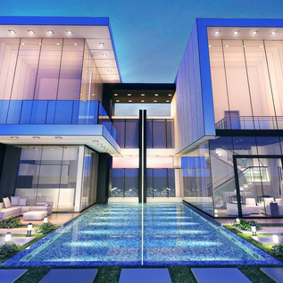 Dubai, Al Khawaneej Villa