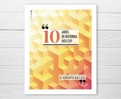 Design de capa 10 anos CSP