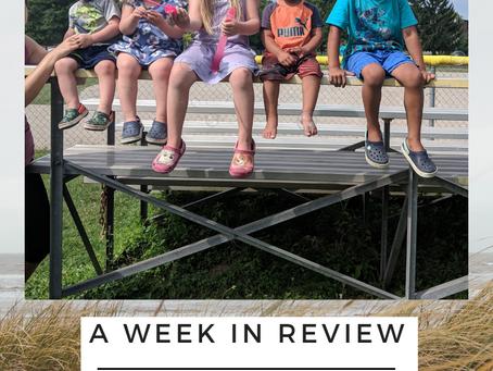5 days + 5 kids = #memoriesmade: A Week in Review