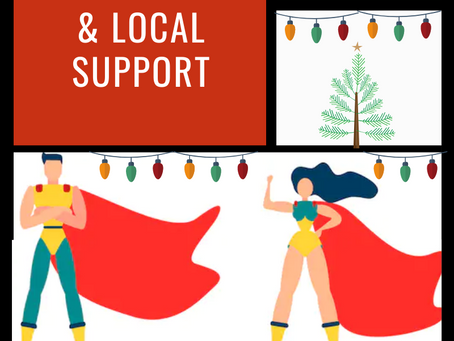 Superhero Christmas Shopping: Consumables & Local Support