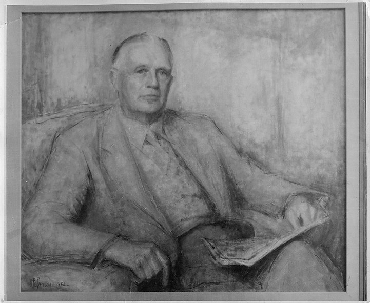 Jeffree Cunningham, Portrait by Myfanwy Pavelic