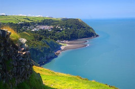 Overlooking Lynton and Lynmouth