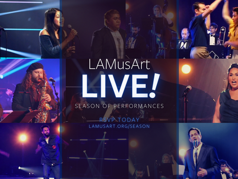 Story and Song, Style and Swing in the Second Season of LAMusArt Live!
