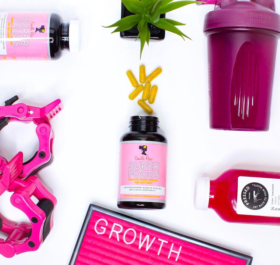 Camille Rose Naturals Super Foods Hair G