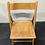 Thumbnail: Chaise pliante en bois - S069