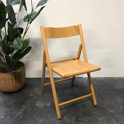 Chaise pliante en bois - S069