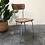 Thumbnail: Chaise en Formica brun - C328