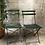 Thumbnail: Paire de chaises pliantes de jardin - 646
