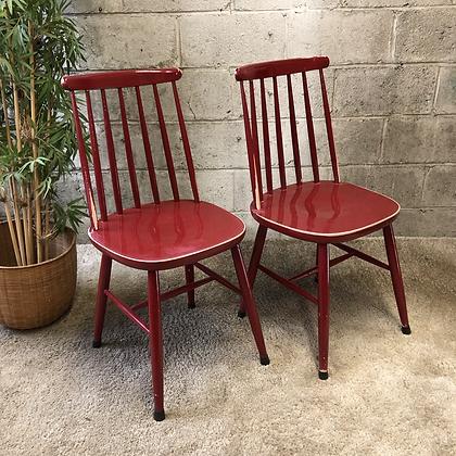 Paire de chaises à barreaux - 655