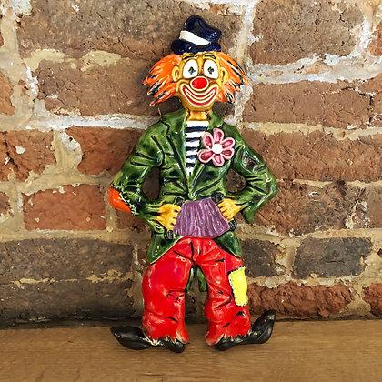 Clown en céramique émaillé - 672